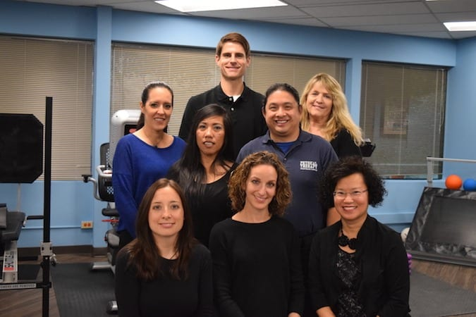 CORE physical therapy staff